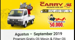 Promo Suzuki New Carry Pick Up Jakarta